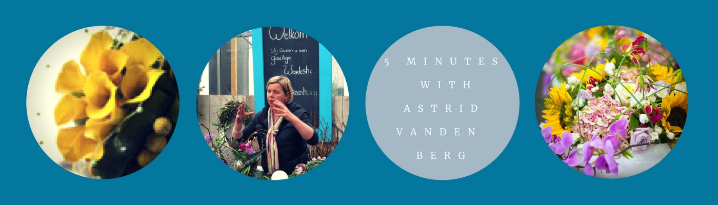 5 minutes with astrid van den berg