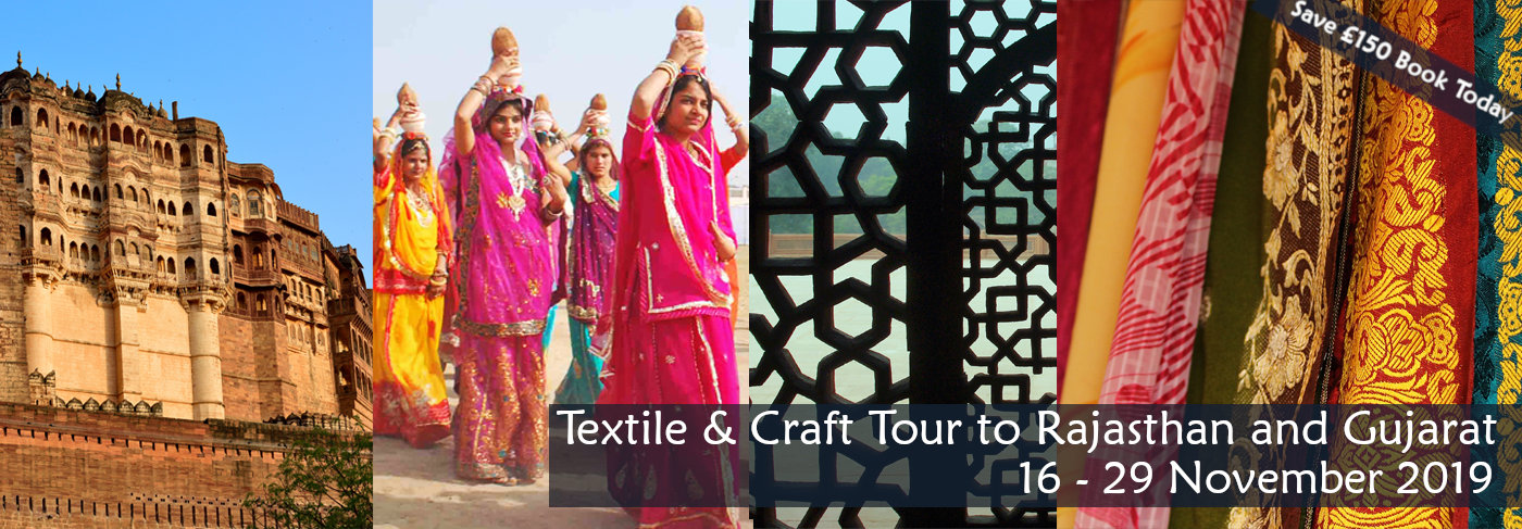 Textile Craft Tour to Northern India 2019