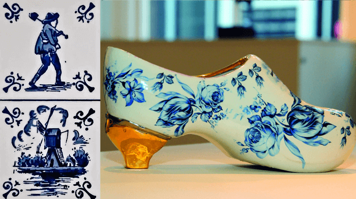 Delft Royal Delftware pottery - guided tour to the Netherlands