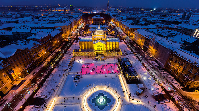 Zagreb Square Best Christmas Markets in Europe 2021 Croatia