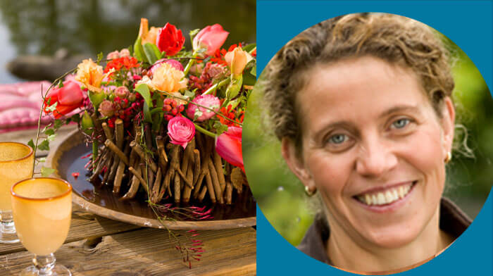 Brigitte Heinrichs Fleur Creatif Workshop in Dusseldorf November 2021