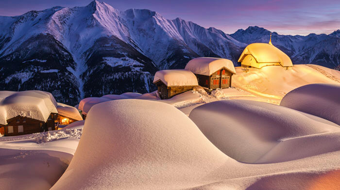 Bettmeralp near Adermatt Best Christmas Markets in Europe for 2021