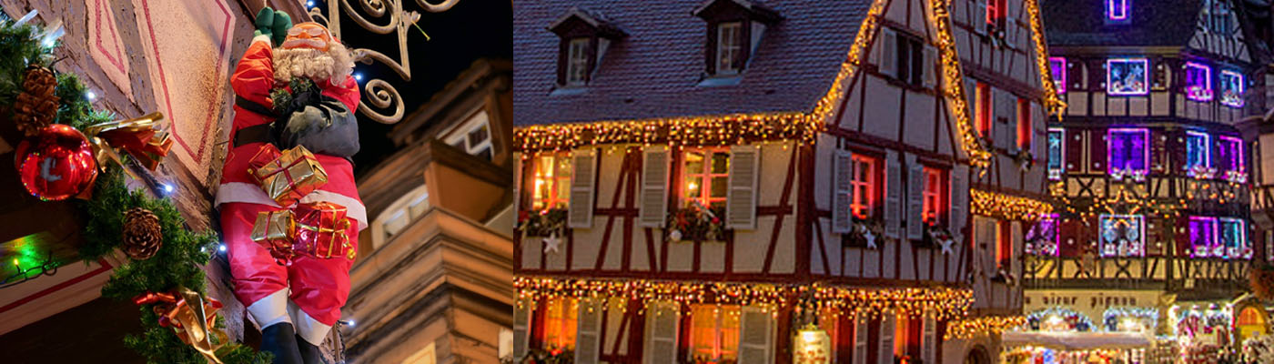Alsace Christmas market holiday