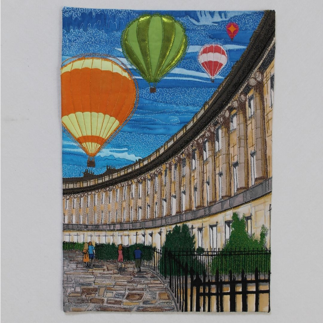 Bath Royal Crescent Balloon Fiesta