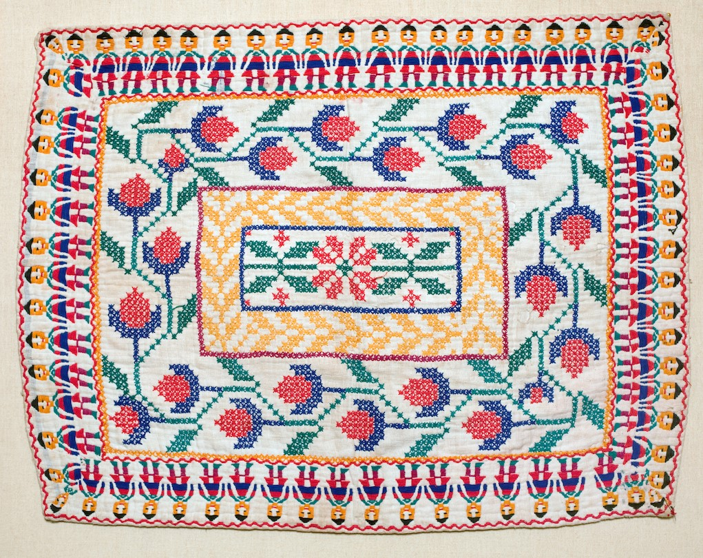 Kantha India Quilt cross stitch
