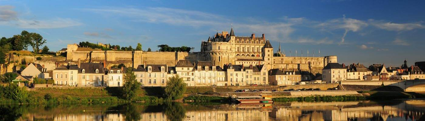 Chateau Amboise in the Loire Valley, France