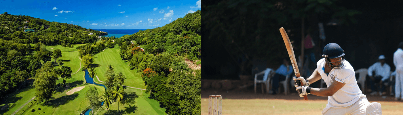 Best golf links in the Caribbean - Sandal's Resort and West Indian Cricket