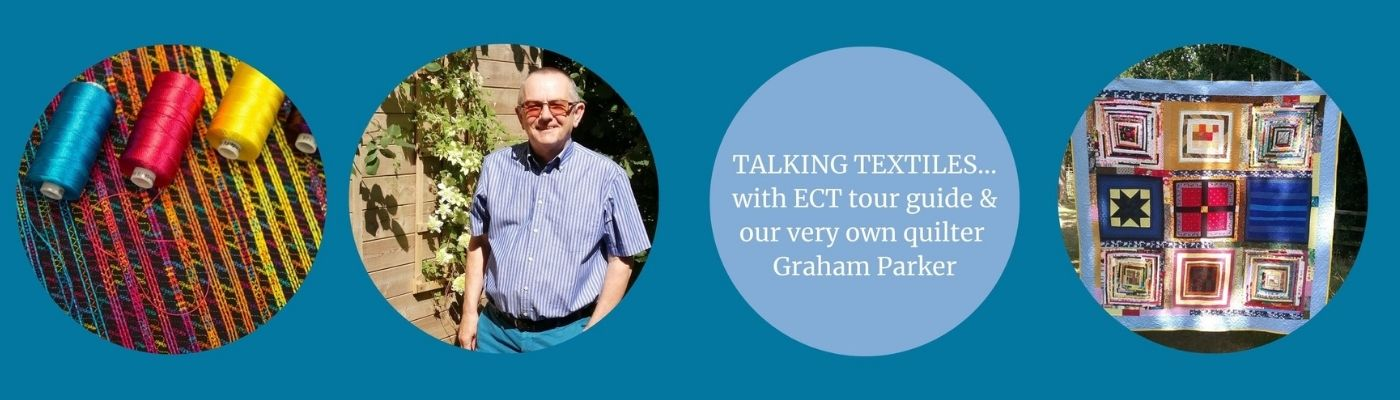 talking textiles with Graham Parker