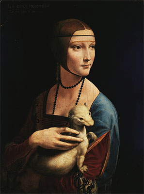 The Krakow National Museum Lady with Ermine
