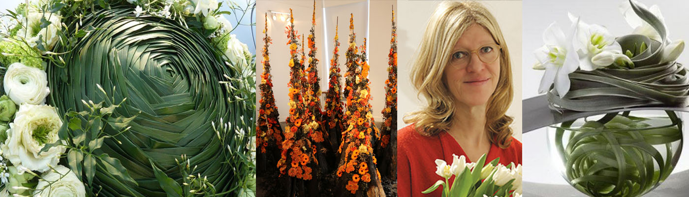 Moniek Vanden Berghe Floral Workshop October 2019