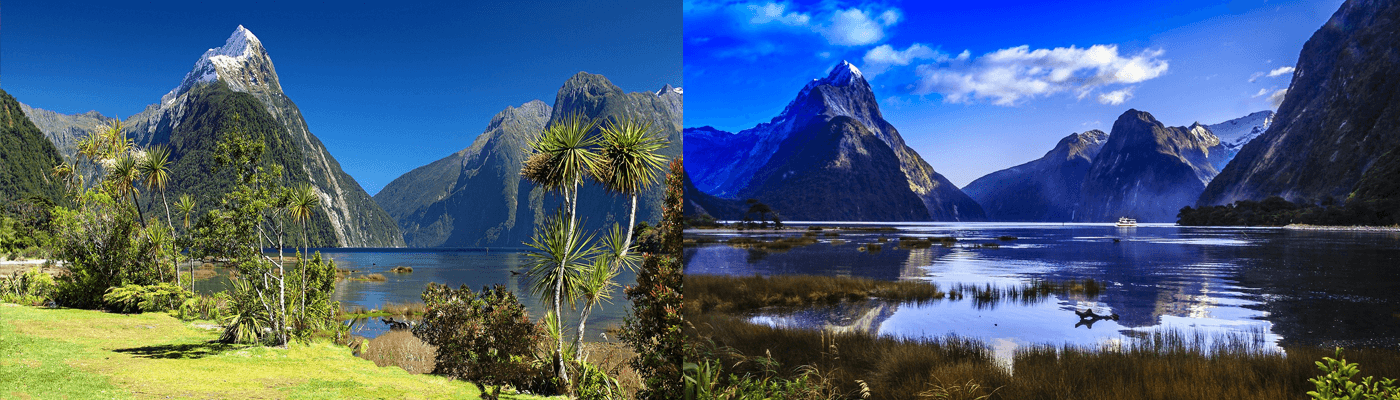 New Zealand a traveller's paradise