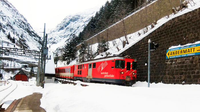 Train Station Andermatt