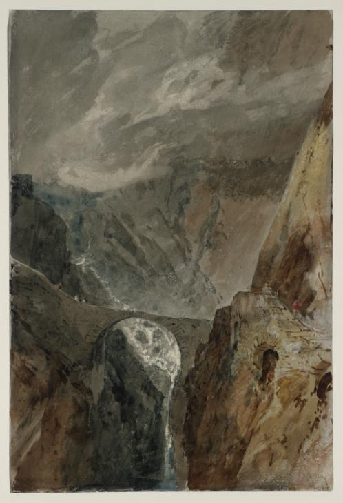 The Devil's Bridge and Schöllenen Gorge 1802, photo © Tate
