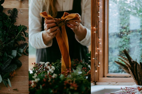 Festive Wreath Making & Bath Christmas Market 2019